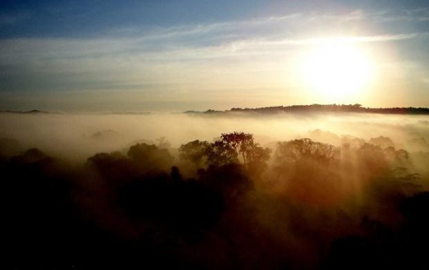 Nascer do sol na Amazônia – Foto: Fábio Paschoal
