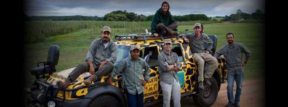 Equipe do Projeto Onçafari